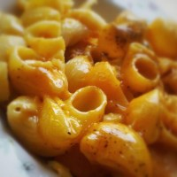 The origin of macaroni and cheese