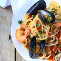 Seafood Spaghetti Napolitana