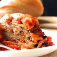 Eggplant parmesan - Napoletana style