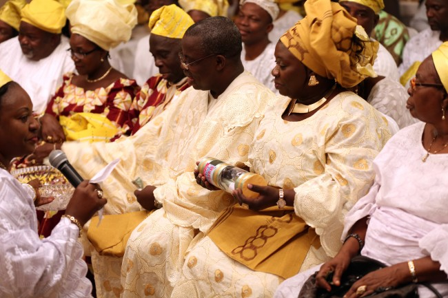 Dance Filled Yoruba Wedding Ceremony New Jersey  The