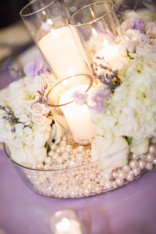 Traditional Lavender And Cream Jewish Wedding Georgia