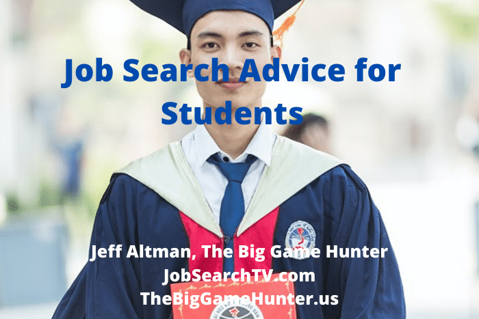 Job Search Advice for Students