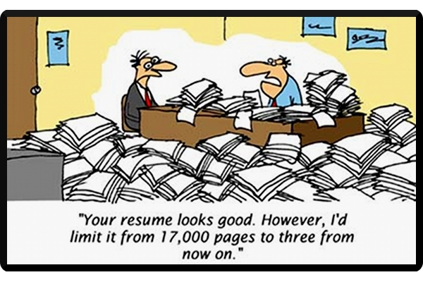 Stupid Resume Mistakes: A Few Doozies! | NoBSJobSearchAdvice.com