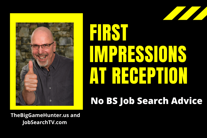 First Impressions at Reception
