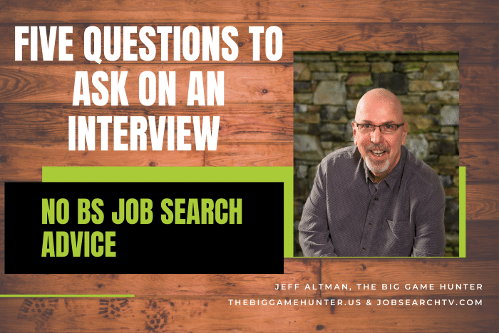 Five Questions to Ask on an Interview
