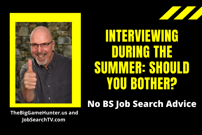 Interviewing During the Summer: Should You Bother?