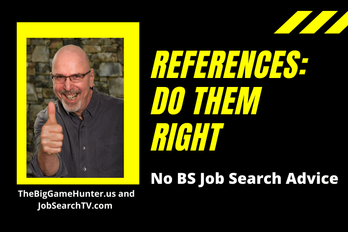 References: Do Them Right