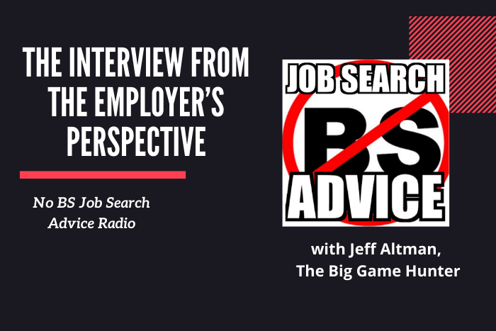 The Interview from the Employer's Perspective