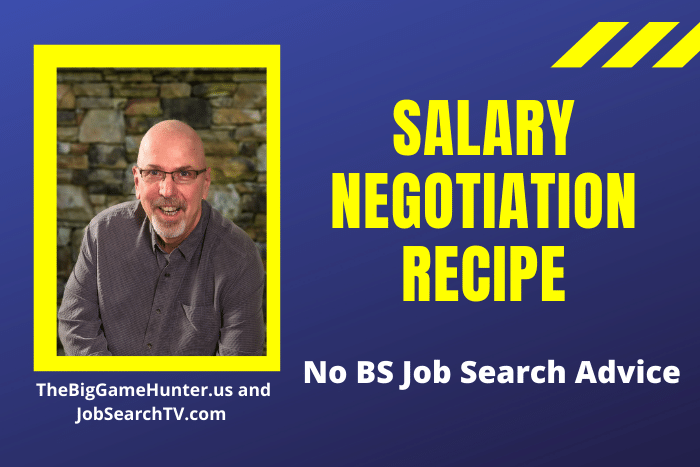 Salary Negotiation Recipe
