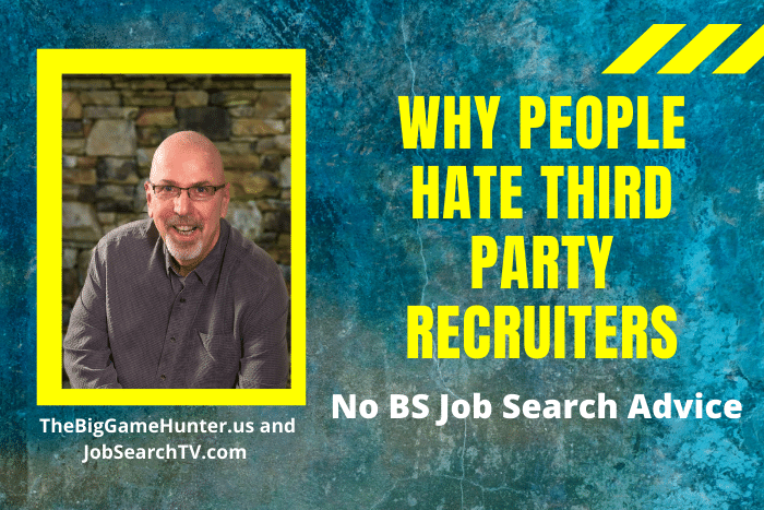 Why People hate third-party recruiters