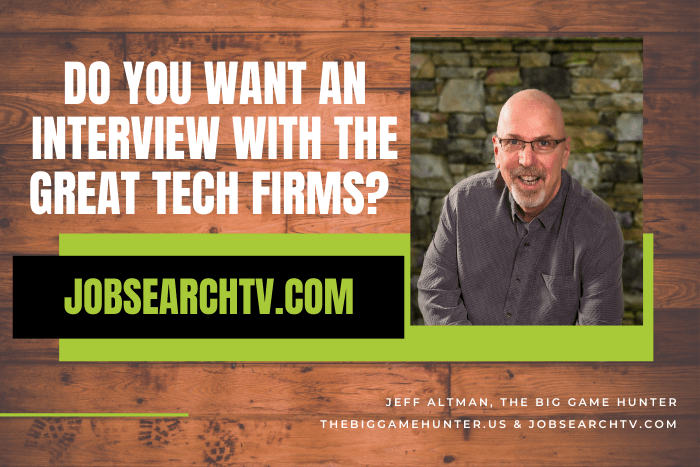 Do you want to interview with the great tech firms?