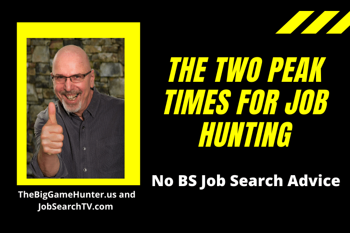 The Two Peak Times for Job Hunting
