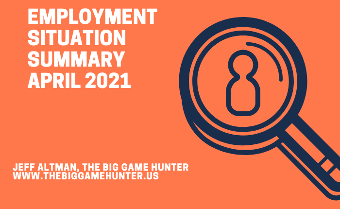 Employment Situation Summary April 2021