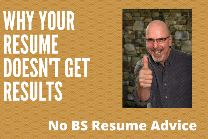 Why Your Resume Doesn't Get Results