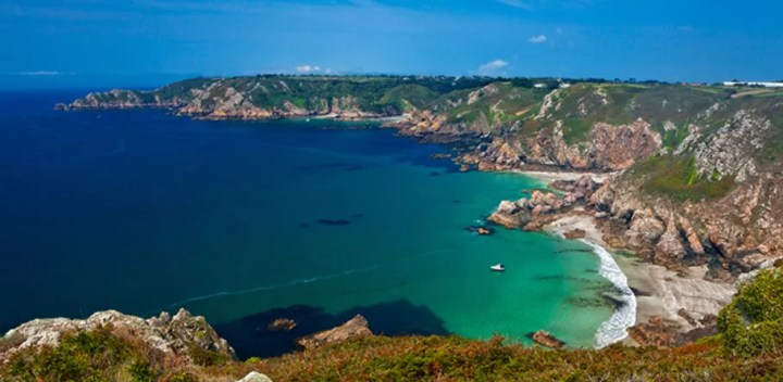 English Channel is an island called Guernsey