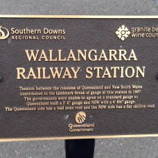 Wallangarra Railway Station - open the pic to read