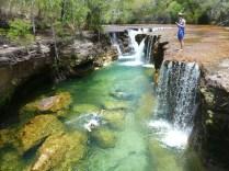 Fresh water falls, the big lap