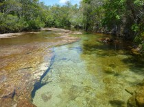 Fresh water creek, the big lap