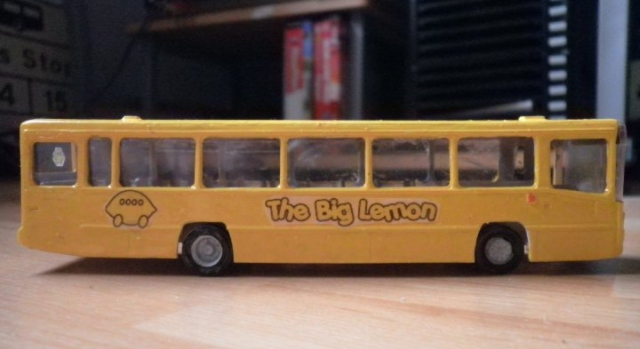 One of our friends made this - a scale model of one of our 48 seaters!