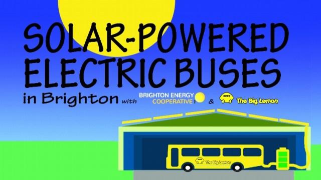 The BIg Lemon's Solar Bus Project