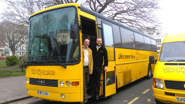 Norman Baker joins The Big Lemon bus company as Managing Director