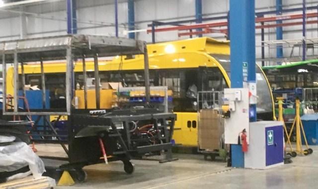 Big Lemon new electric bus Brighton & Hove