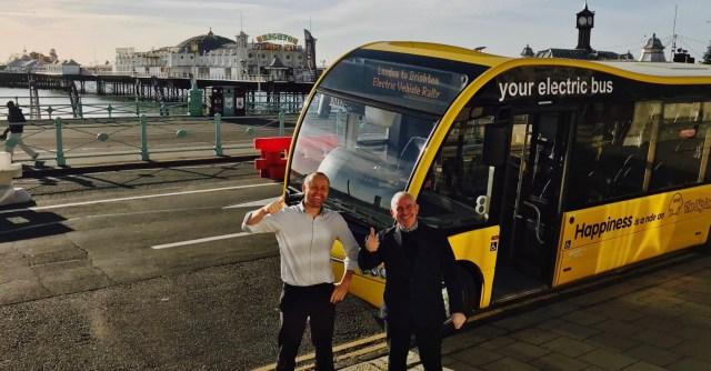 The Big Lemon London to Brighton Electric Vehicle Rally