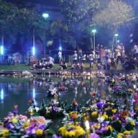 A magical day - Celebrating Loy Krathong