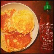 Savoury Kabocha Pancakes