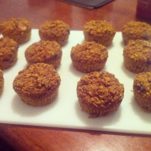 Banana Pumpkin Muffins (Gluten Free)