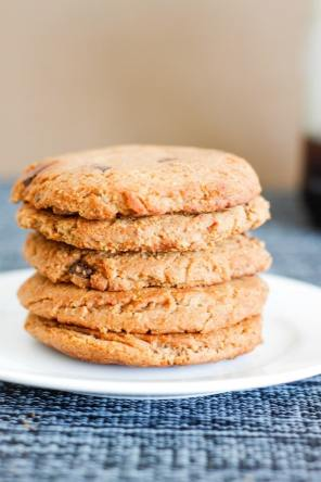 Easy Pumpkin Peanut Butter Cookies (Gluten Free)