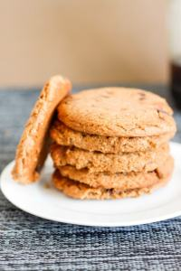 peanut butter cookies for one- thebigmansworld.com