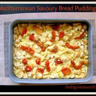 Easy Savoury Bread Pudding