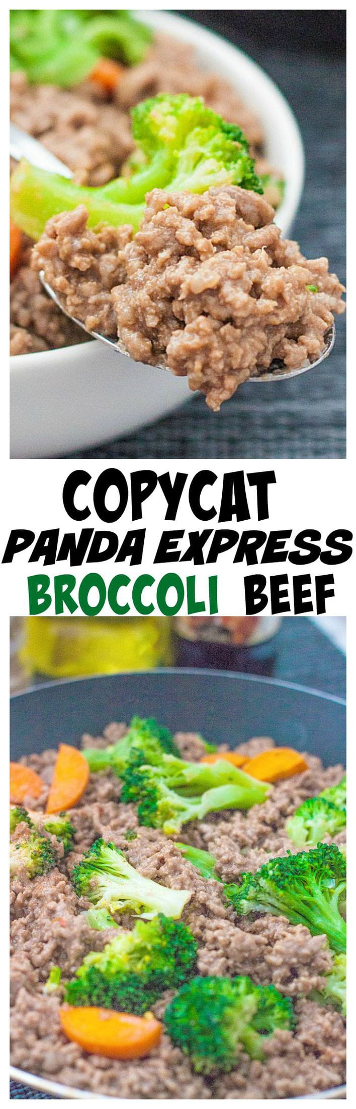 Copycat Panda Express Broccoli Beef using ground meat instead- Cost effective, healthy and paleo friendly too!