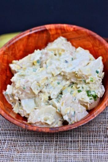 Marinated Pesto Potato Salad (Gluten Free)