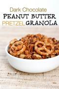 Dark Chocolate Peanut Butter Pretzel Granola