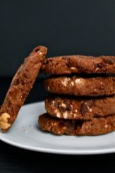 Small Batch Chocolate Chunk Breakfast Cookies- A whole batch for one!