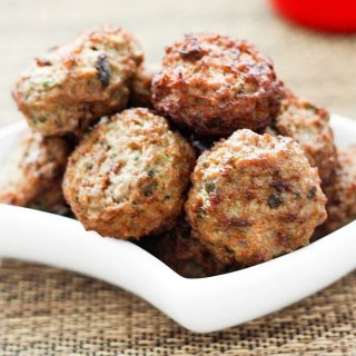 Paleo 'Thanksgiving' Meatballs