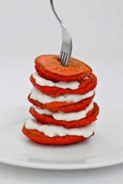Red Velvet Pancakes (GF, High Protein, Sugar Free)