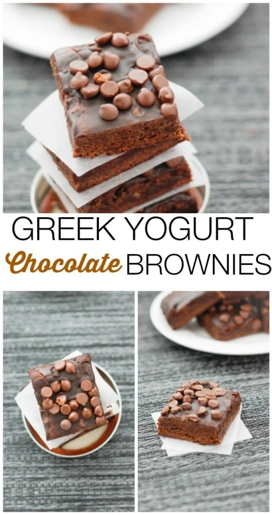 greek-yogurt-brownies-collage