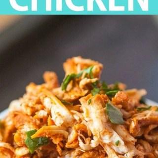 Pulled Tandoori Chicken
