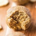 No Bake {Healthy Protein Packed!} Banana Nut Muffin Bites- The doughy taste and texture of a bakery style banana nut muffin yet requiring no baking, flour, butter or oil! These No Bake bites are vegan, gluten free, refined sugar free and high in protein- The perfect portable snack which tastes JUST like a banana nut muffin! @thebigmansworld -thebigmansworld.com