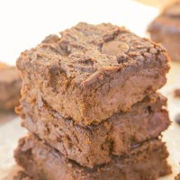 Healthy 4 Ingredient Flourless Sweet Potato Brownies