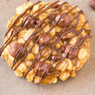 3 Ingredient Flourless Banana Bread Cookies
