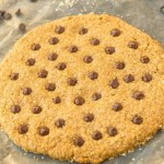 Healthy 1 MINUTE GIANT cookie for ONE! Tested two ways (soft and chewy or chewy and crispy!), this single serve cookie is secretly healthy with NO butter, oil, flour or white sugar! {vegan, gluten free, paleo recipe}