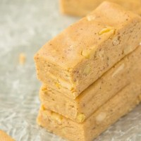 No Bake Banana Bread Protein Bars