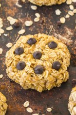 Healthy 3 Ingredient No Bake Oatmeal Cookies- Extra chewy cookies which are ready in under 5 minutes and no added sugar! {vegan, gluten free, dairy free recipe}- thebigmansworld.com
