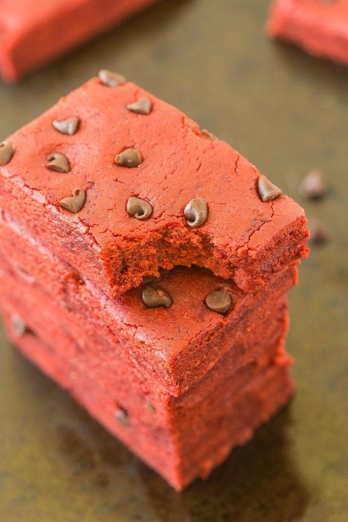 Red Velvet Cake Protein Bars