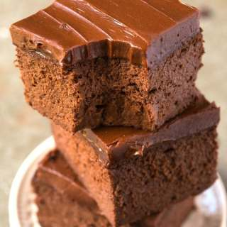 Healthy 3 Ingredient Flourless Sweet Potato Brownies