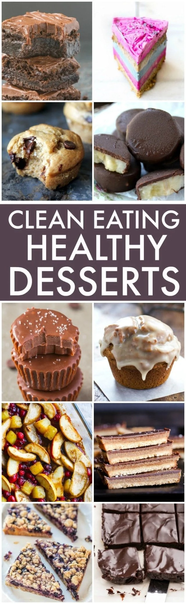 Clean Eating Holiday Desserts (V, GF, Paleo options)- The BEST Clean Eating and Healthy Holiday Desserts, snacks and sweets perfect for Christmas, the festive season, gifts or anytime- Flourless, muffins, bars, brownies, and sugar free options! {vegan, gluten free, paleo recipe options}- thebigmansworld.com
